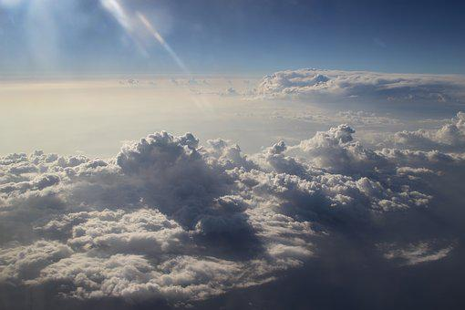 Above The Clouds, Clouds, Plane View