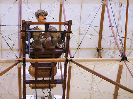 Pilot, Aeroplane, Aircraft, Bristol, Boxkite, Biplane