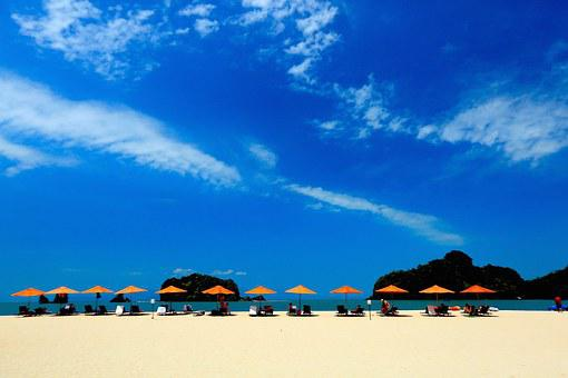 Beach, Blue Sky, Langkawi