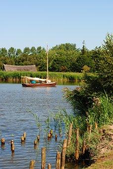 Norfolk, Broads, Boat, Fen, Anglia, Water, East
