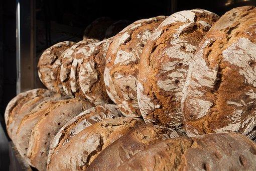 Bread, Loaf Of Bread, Fresh, Crispy, Bread Crust
