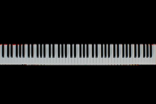 Keys, Piano, Keyboard, Isolated, Piano Keyboard, Music