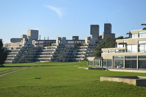 Uea, University, East Anglia, Lasdun, Norwich