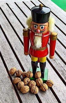 Nutcracker, Christmas, Advent, Soldier, Figure Out Wood