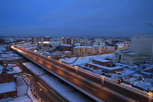 Omsk, Russia, Center, Siberia, Tourism, Architecture