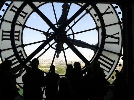 Musée D'orsay, Paris, Orsay, Museum, Interior, Clock