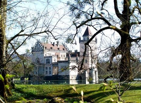 Salzburg-anif Castle, Park, Architecture