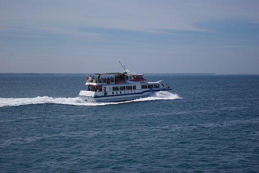 Penghu, Shop, Ship, Transport, Travel, Sea, Island