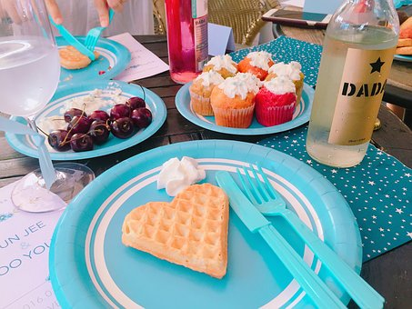 Bridal Party, Party, Waffle, Dessert, Wines, Cupcakes