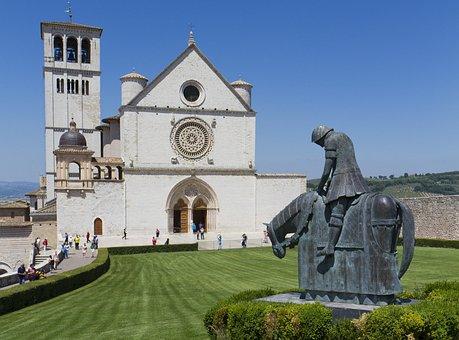 Basil, San Francesco D'assisi, Assisi, Church, Knight