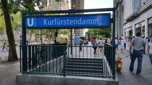 Berlin, Kurfürstendamm, Landmark