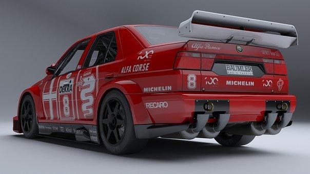 Alfa Romeo 155 Dtm, Race Car, Dtm Championship