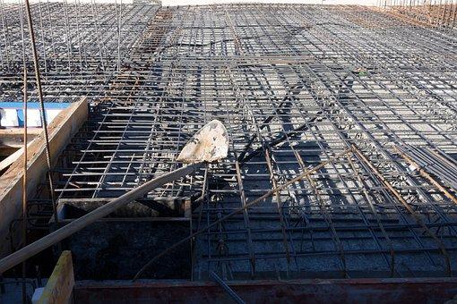 Site, Blade, Steel, Reinforcement, Concrete