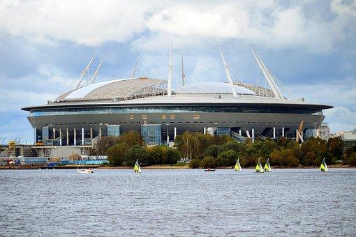 Saint Petersburg, Stadium, Fifa 2018, Russia