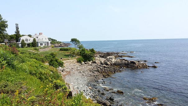 Ocean, Coastal Living, Sea, Water, Coast, Seaside
