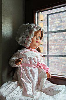Window, Windows, Toys, Doll, Swing, Toy, Old Fashioned