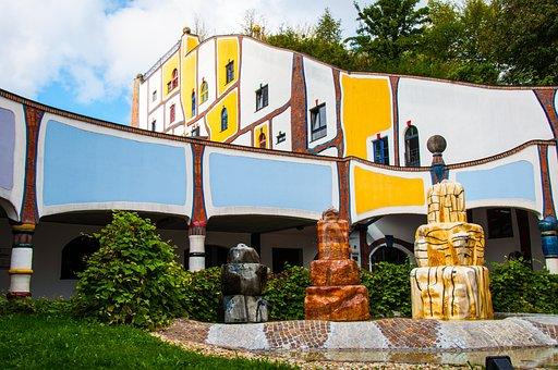 Architecture, Bad Blumau, Hotel Entrance