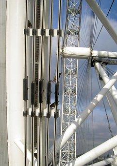 London, London Eye, Attraction, Ferris Wheel