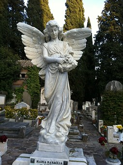 Angel, Cemetery, Baroque