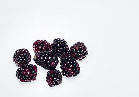 Berry, Fruit, Blackberry, Ripe, Natural, Tasty
