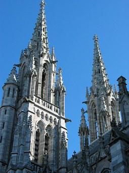 Zeebrugge, Church, Belgium, Gothic, Cathedral