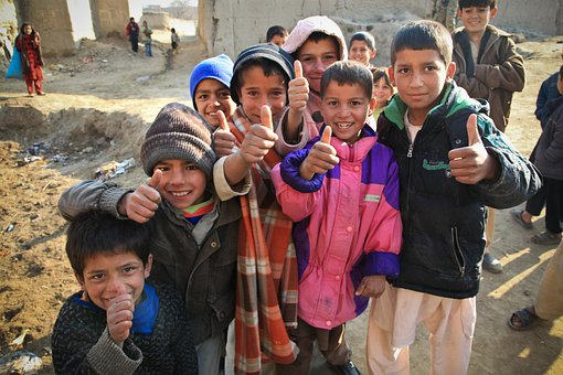 Children, Cute, Afghanistan, Persons, Curious, Kids
