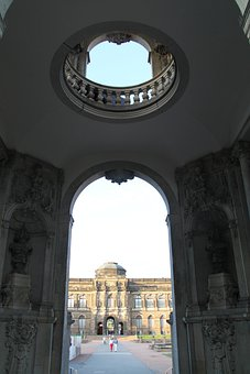 Dresden, Germany, Zwinger, Palace, Buildings