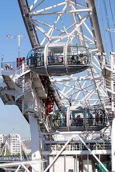 London Eye, Ferris Wheel, London, Tourism