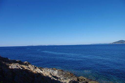 South Of France, Sea, La Croix Valmer, Nature, France