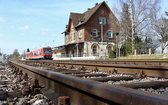 Hermaringen, Vt 650, Railway Station, Brenz Railway