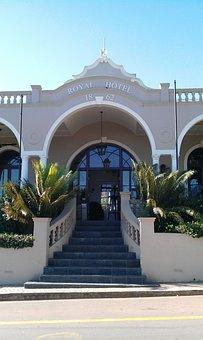 Hotel Entrance, South Africa, Riebeck Kasteel
