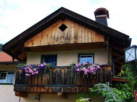Old Wooden Balconies, Building, Wooden Balconies