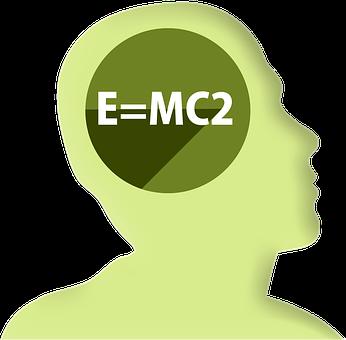 Icon, Head, Profile, Mathematics, Physics, Einstein