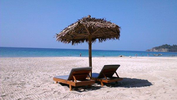 Myanmar, Solitude, Ocean, Sea, Beach, Seascape, Sky