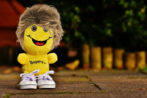 Smiley, Laugh, Hair, Hairstyle, Sneakers, Funny