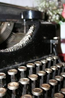 Typewriter, Old, Kappel