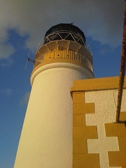 Lighthouse, Abandoned, Island