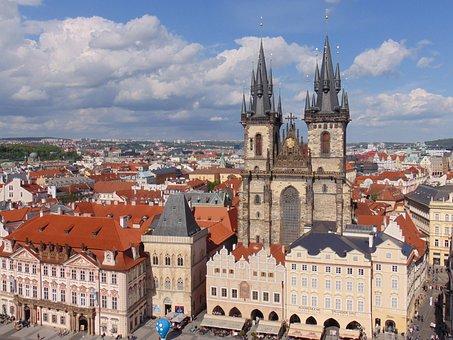 Prague, Old City, Crowd