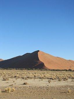 Namibia, Dune, Nature, Desert, Africa, Landscape