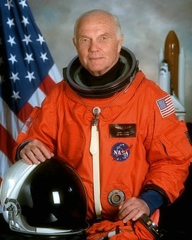 John Herschel Glenn Jr, American, Aviator, Engineer