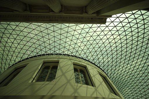 Architecture, British Museum, Ceiling, Construction