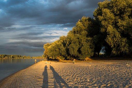 Novi Sad, Serbia, Europe, Beach, Outdoor, Danube