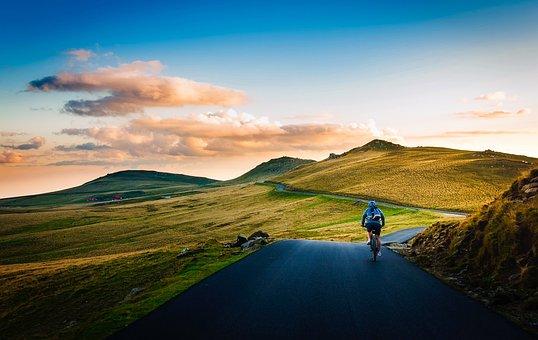 Romania, Bicycle, Cycling, Man, Rider, Leisure