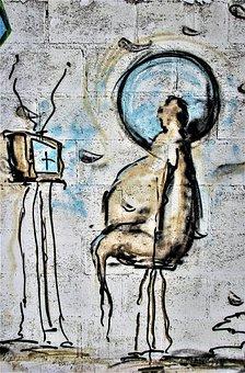Modern Man, Television, Brainwash, Apathy, Passiveness