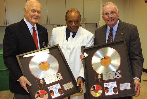 John H, Glenn Jr, Quincy Jones