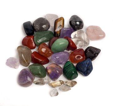 Spiritualism, Green Aventurine, Red Jasper, Crystals
