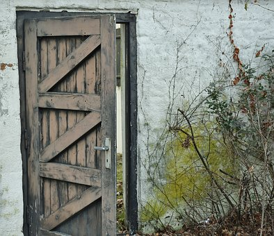 Door, Passage, Building, Rural, Old Building