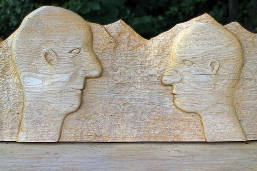Head, Face, Wood, Carve, Carving, Portrait, Profile
