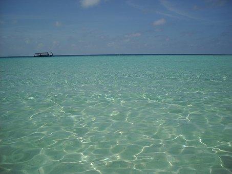 Maldives, Sea, Boat