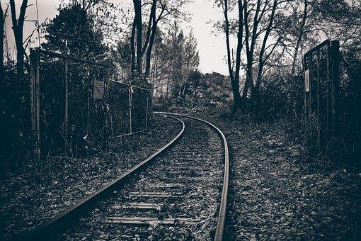 Lost Places, Railway, Gleise, Railway Tracks, Weathered